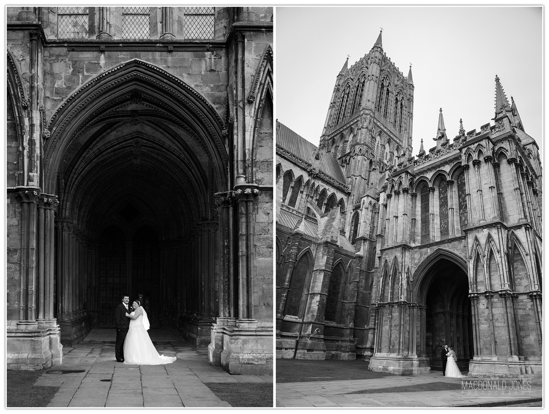 Lincoln Cathedral Hotel Wedding Photography