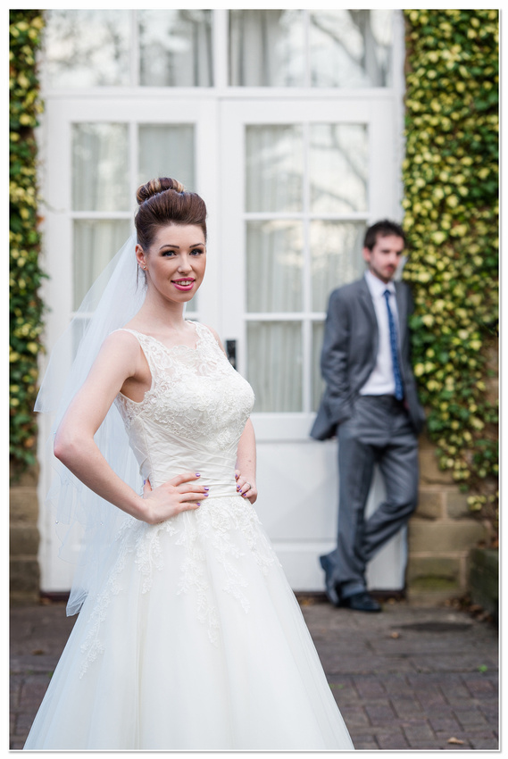 Wedding Photography Liversedge Healds Hall Hotel Justin Alexander Dress Elegance of Scholes Bridal Boutique