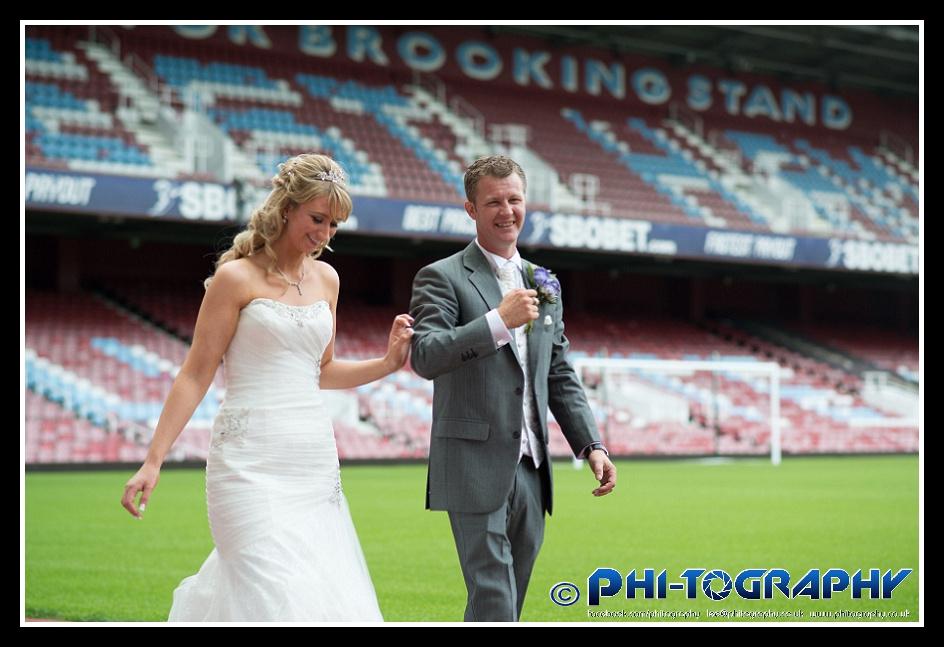 West Ham United Upton Park Stratford Wedding London Photographer