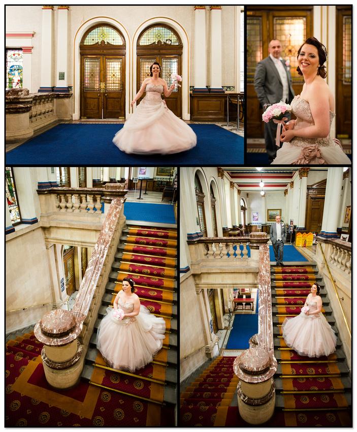 Pickles Wedding Andy & Kiri Dewsbury Town Hall Registry Office Photography