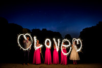 Fixby Hall Fireworks Wedding