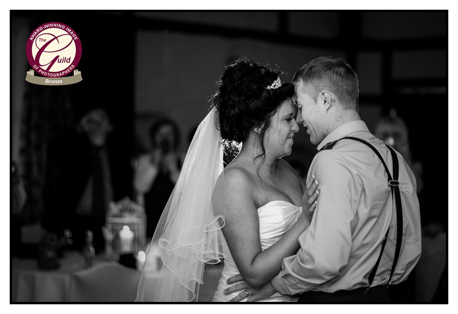 Holdsworth House Halifax Wedding Snow Snowy First Dance Image