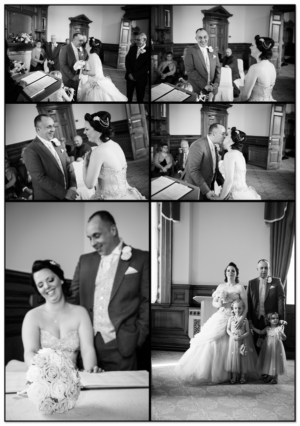 Pickles Wedding Andy & Kiri Dewsbury Town Hall Registry Office Photography
